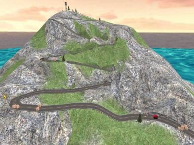 盘山公路 3D
